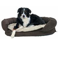 Лежак для собак Trixie Fabiano, коричневый-бежевый, размер 120х75х12см.