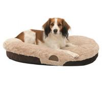 Фотография товара Лежак для собак Trixie Malu, размер 80х55см., коричневый/светло-коричневый