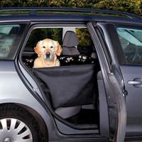 Подстилка для собак Trixie, черный/бежевый, размер 65х145см.