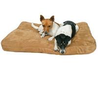 Лежак для собак Trixie Monty, коричневый, размер 90х65х10см.