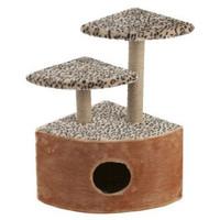 Фотография товара Домик-когтеточка для кошек Велес, размер 45х40х70см., цвета в ассортименте