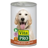 Фотография товара Корм для собак Vita Pro, 400 г, дичь