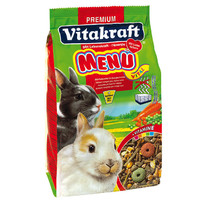 Фотография товара Корм для кроликов Vitakraft Menu Vital, 500 г