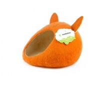 Фотография товара Домик для животных Zoobaloo Уютное гнездышко, размер 40х40х20см., оранжевый