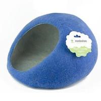 Фотография товара Домик для животных Zoobaloo Уютное гнездышко, размер 40х40х20см., синий