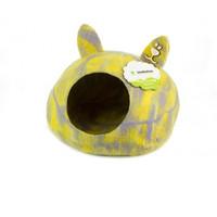 Фотография товара Домик для животных Zoobaloo Уютное гнездышко, размер 40х40х20см., мультиколор желтый