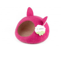 Фотография товара Домик для животных Zoobaloo Уютное гнездышко, размер 40х40х20см., малиновый