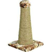 Фотография товара Когтеточка для кошек Зооник Шестигранная, размер 30х30х58см.