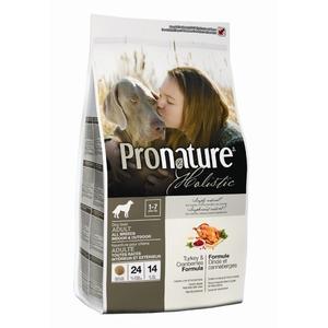 Фотография товара Корм для собак Pronature Holistic Dog Turkey & Cranberries, 13.6 кг, индейка с клюквой