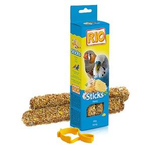 Фотография товара Палочки для волнистых попугайчиков и экзотов Rio Sticks, мед