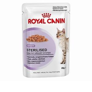 Фотография товара Влажный корм для кошек Royal Canin Sterilised 37, 85 г