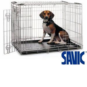 Фотография товара Клетка для крупных собак Savic DOG RESIDENCE 118, размер 4, размер 118x76x88см.