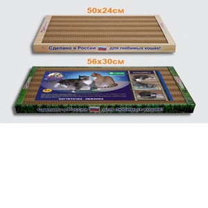 Фотография товара Когтеточка для кошек Стандарт, размер 56х30х3.5см.