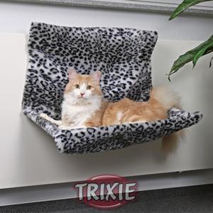 Фотография товара Гамак для кошки Trixie Леопард, размер 48 х 30 х 38см.
