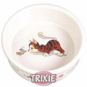 Фотография товара Миска для кошек Trixie Веселая кошка, размер 11см.