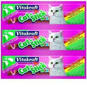 Фотография товара Лакомство для кошек Vitakraft, 18 г, утка и кролик