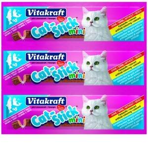 Фотография товара Лакомство для кошек Vitakraft, 18 г, семга и форель