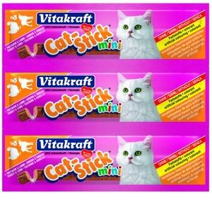 Фотография товара Лакомство для кошек Vitakraft, 18 г, индейка и ягненок